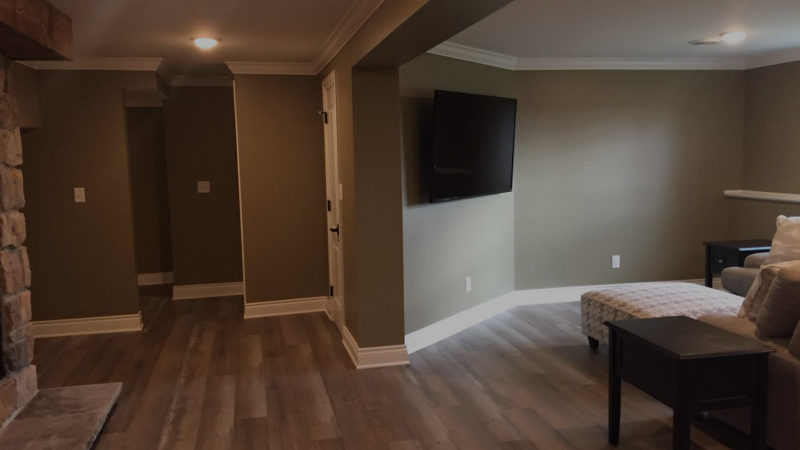 Basement Remodeling in Rockford IL